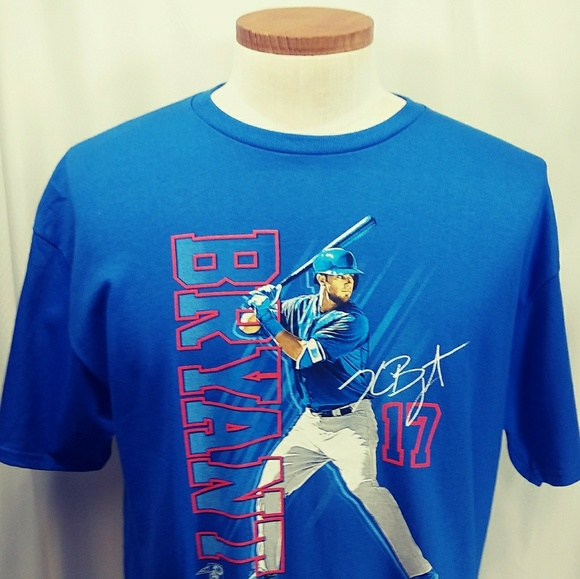 classic fit fe3bc db839 MLB Chicago Cubs Kris Bryant Men's Graphic T-Shirt NWT